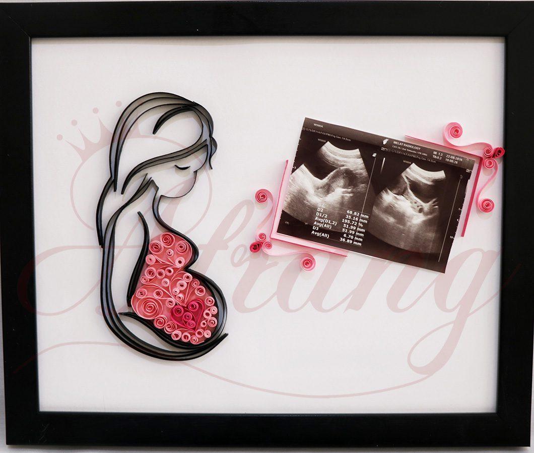 قاب عکس بارداری