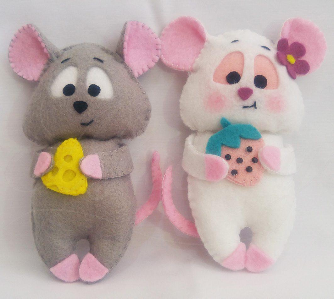 عروسک دست ساز جیمی و جینی