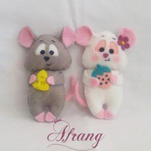 عروسک نمدی جیمی و جینی