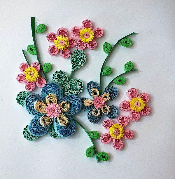 کارت پستال باغ گل