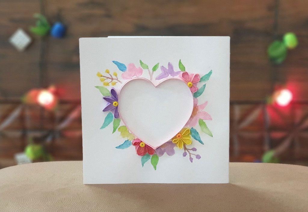 کارت پستال قلب