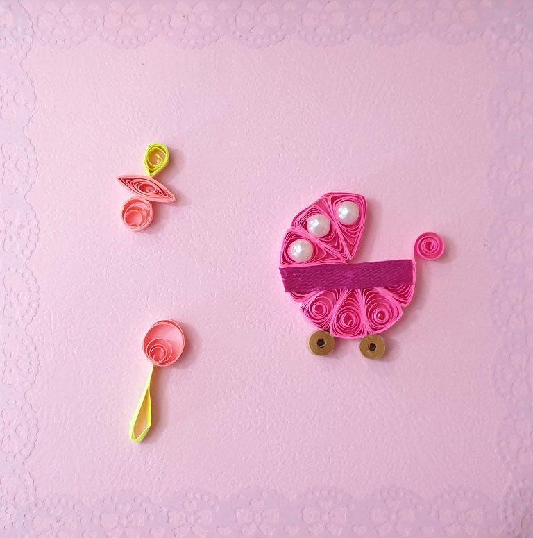 کارت پستال برای تبریک تولد نوزاد