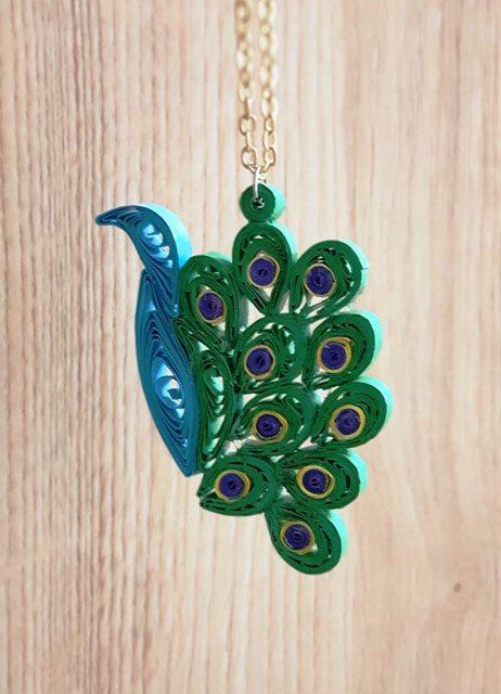 گردنبند طاووس
