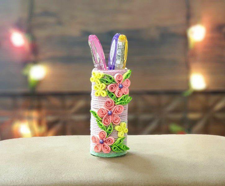 جا مدادی رومیزی گلها