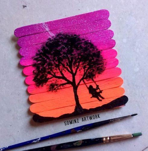 Painting-on-PopsicleSticks1