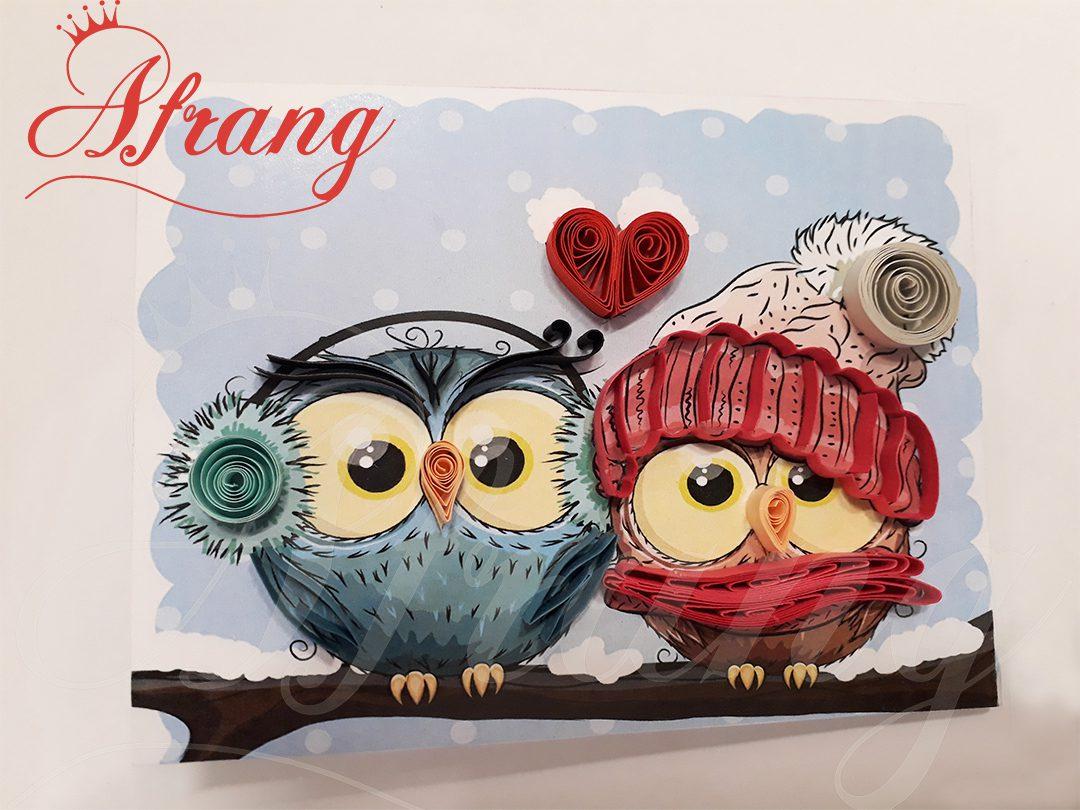 کارت پستال عاشقانه - کد 0005