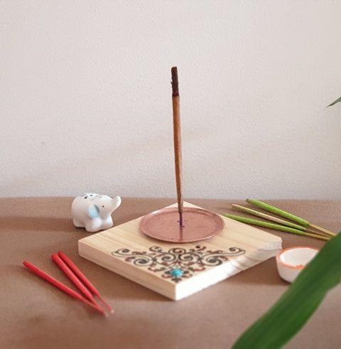 عودسوز چوبی طرحدار